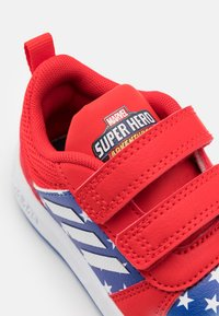 adidas Performance - TENSAUR UNISEX - Sports shoes - vivid red/footwear white/team royal blue - 5