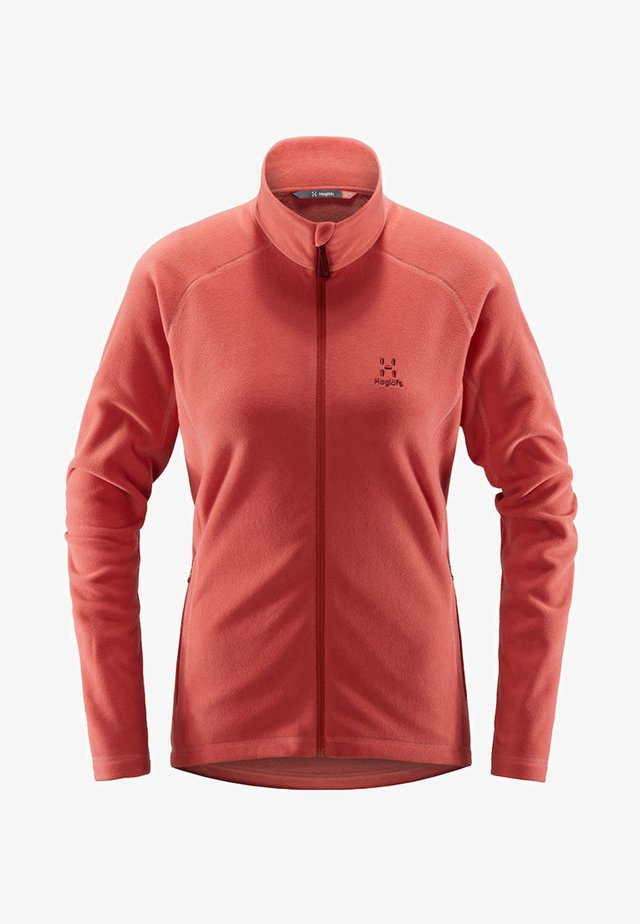 FLEECEJACKE ASTRO JACKET WOMEN - Training jacket - rusty pink