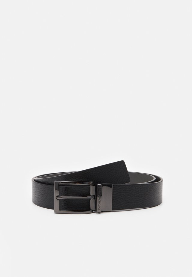 TONGUE BELT - Pásek - black
