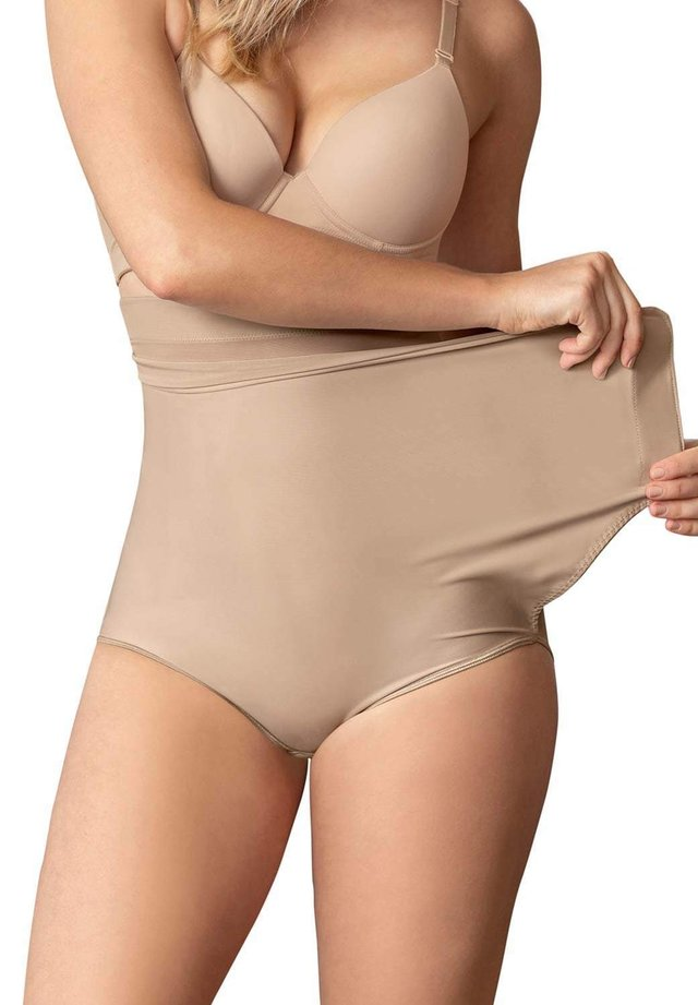 HIGH-WAISTED FIRM COMPRESSION POSTPARTUM KNICKE - Shapewear - nude