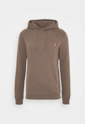 RAVEN OTH HOODY - Huppari - washed khaki brown