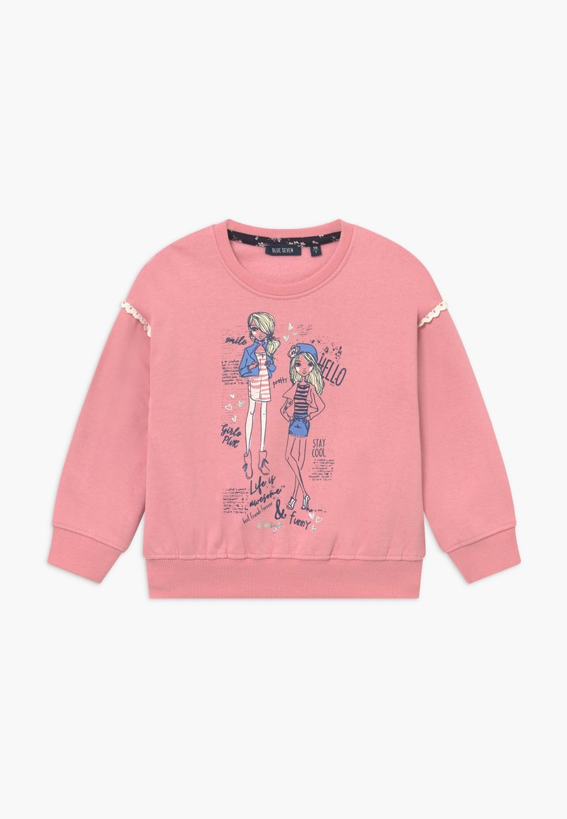 Blue Seven - KIDS FASHION GIRL - Sweatshirt - mauve