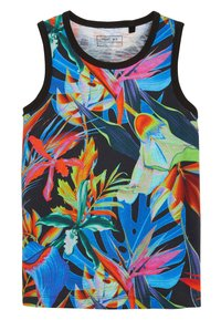 Next - 3 PACK FLORAL VESTS - Top - black - 2
