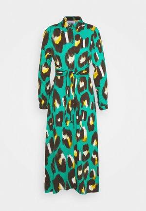 TIE WAIST DRESS - Skjortekjole - green
