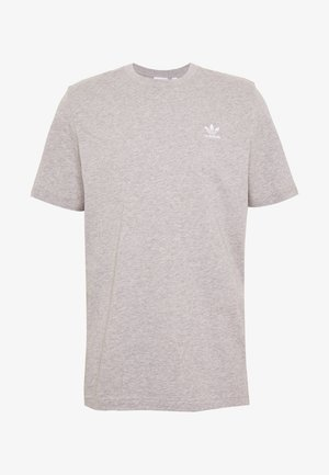 ESSENTIAL TEE UNISEX - T-shirt - bas - mottled grey