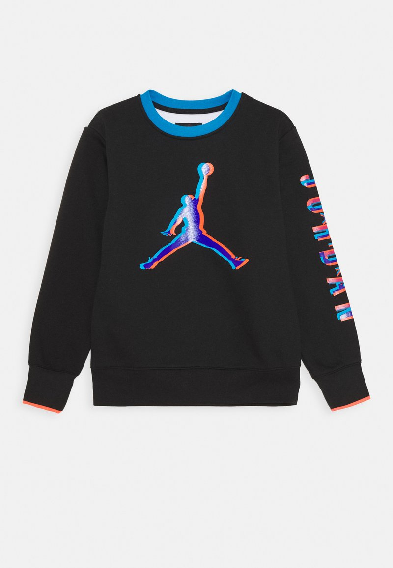 Jordan - SPACE GLITCH CREW UNISEX - Sudadera - black/white