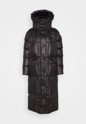 LONG COAT - Daunenmantel - black