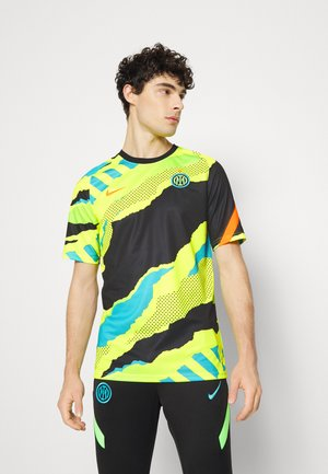 INTER MAILAND - Club wear - black/lemon/total orange