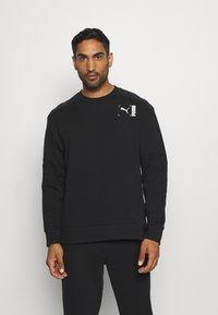 Puma - CREW - Sweatshirt - black - 0