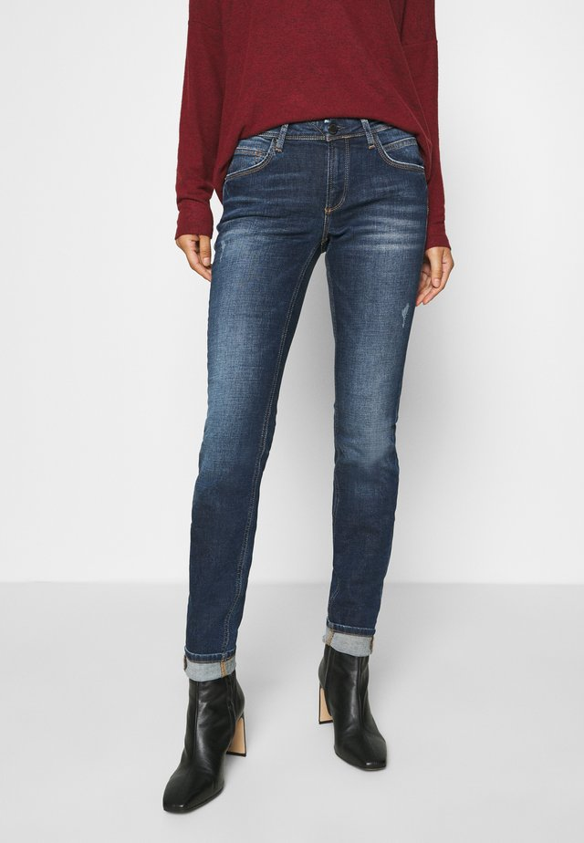 ALVA - Jeans Skinny Fit - dark-blue denim