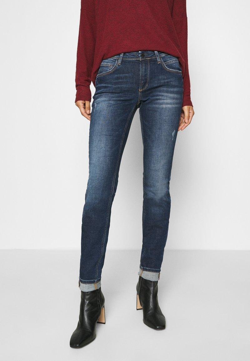 Marc O'Polo DENIM - ALVA - Jeans Skinny Fit - dark-blue denim