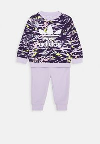 adidas Originals - CREW SET - Mikina - purple - 0