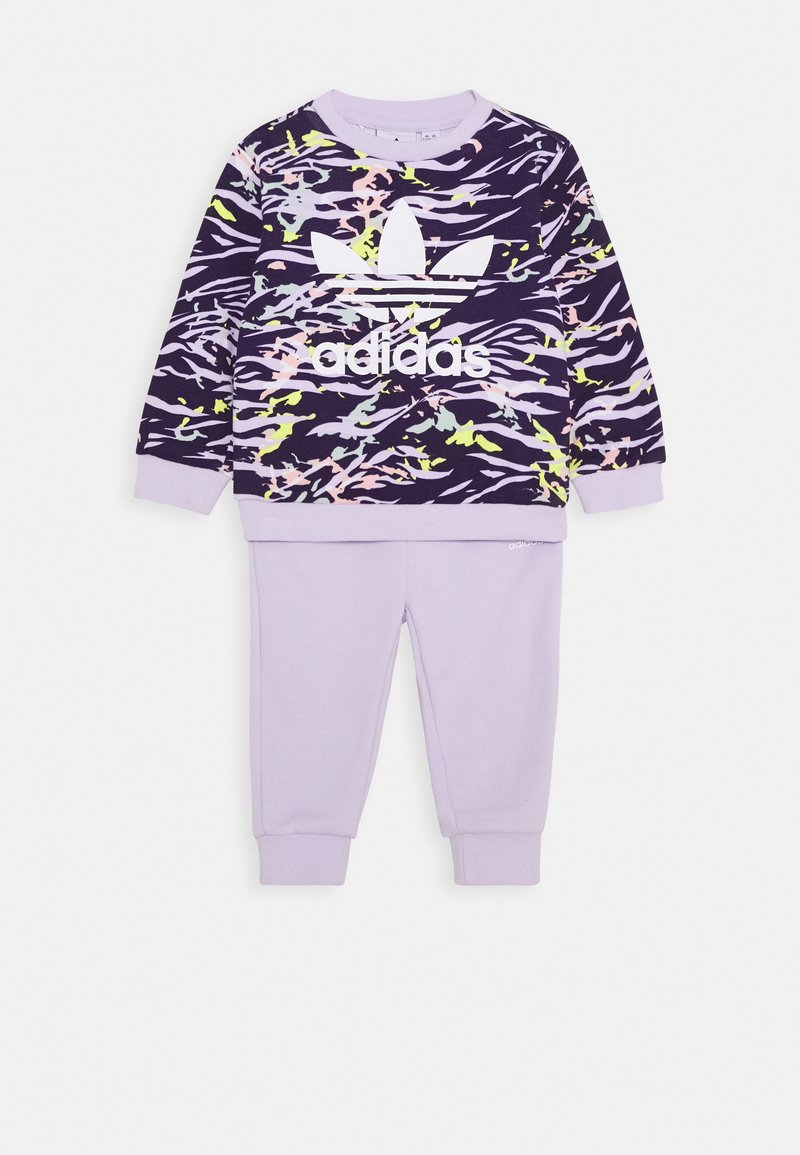 adidas Originals - CREW SET - Mikina - purple