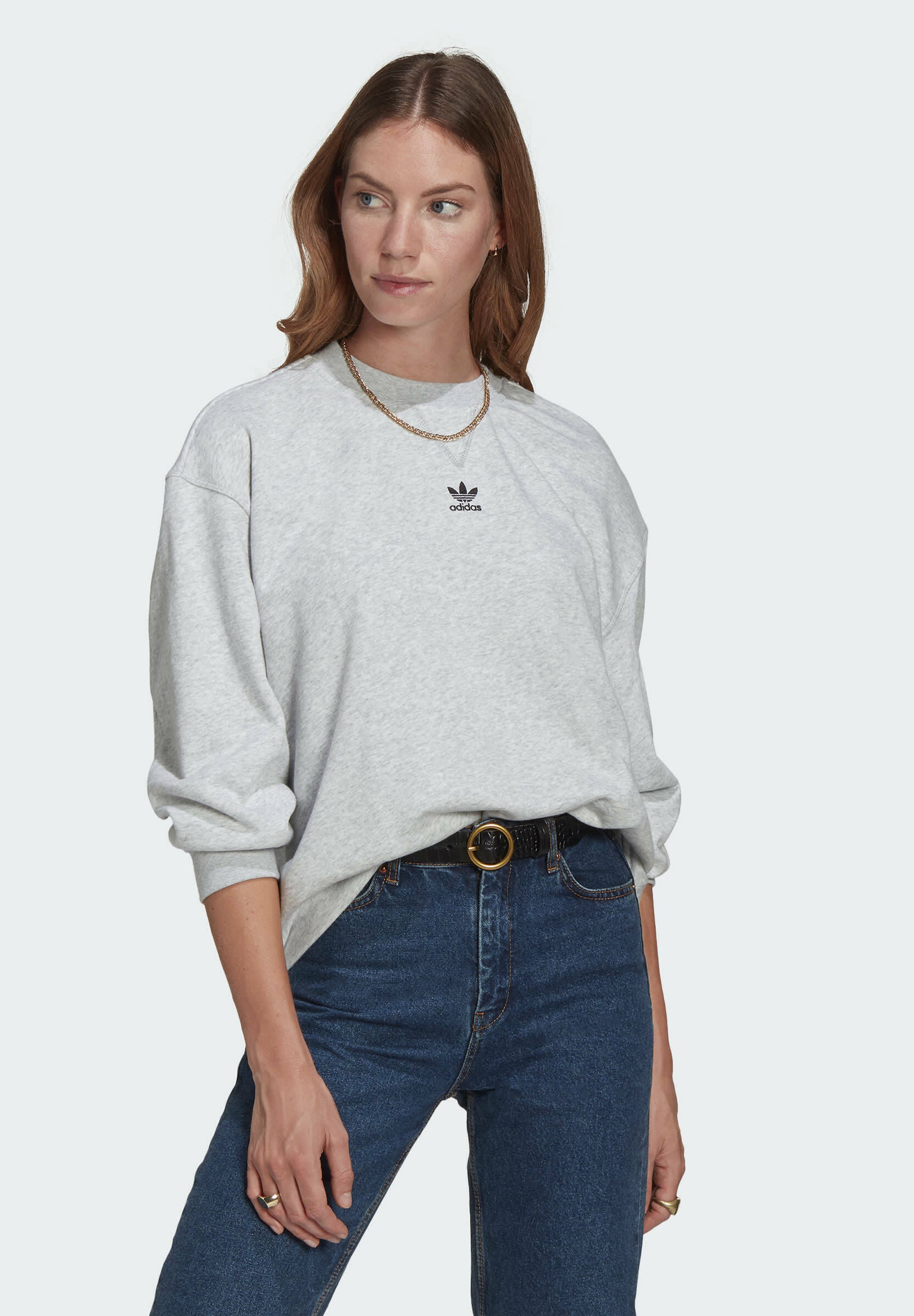 Femme LOUNGEWEAR ADICOLOR ESSENTIALS SWEATSHIRT - Sweatshirt