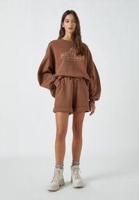 PULL&BEAR - Sweatshirt - brown - 1