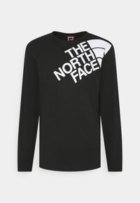 The North Face - SHOULDER LOGO TEE - Long sleeved top - black - 4