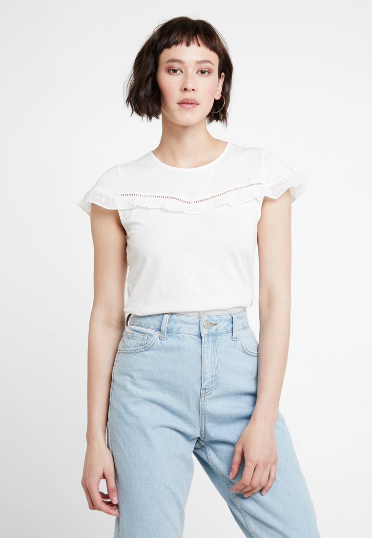 mint&berry - Print T-shirt - offwhite