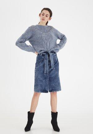 IHOMEGA - A-line skirt - medium blue