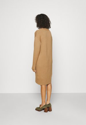 SLFSELLA DRESS O-NECK  - Jumper dress - tigers eye