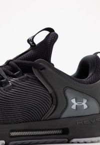 Under Armour - HOVR RISE  - Trainings-/Fitnessschuh - black/mod gray - 5