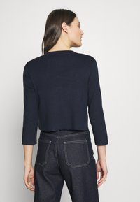 Esprit Collection - ECOVERO BOLERO - Cardigan - navy - 2