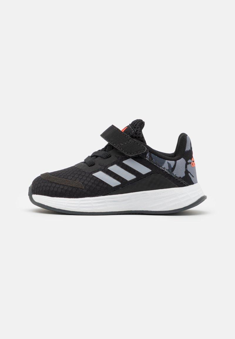 adidas Performance - DURAMO SL SHOES - Zapatillas de entrenamiento - core black/halo silver/solar red