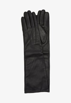 LEATHER - Fingerhandschuh - black
