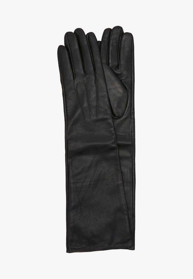 LEATHER - Gants - black