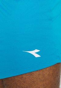 Diadora - RACE SHORTS TEAM UP - Pantalón corto de deporte - blue fluor - 4