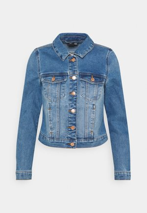 VMFAITH SLIM JACKET - Giacca di jeans - medium blue denim