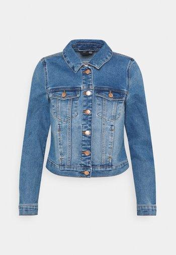 VMFAITH SLIM JACKET - Denim jacket - medium blue denim