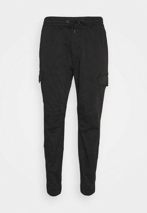 JOGGER UTILITY - Cargo trousers - black tab