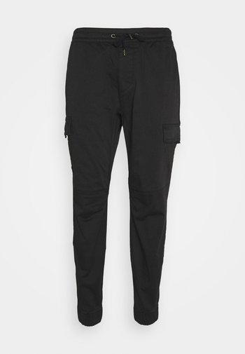 JOGGER UTILITY - Pantalon cargo - black tab