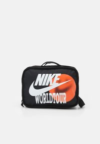 Nike Sportswear - UTILITY BAG UNISEX - Wash bag - black/black/white - 0