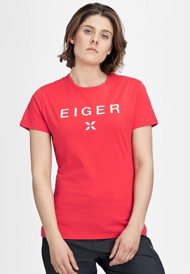 SEILE - Print T-shirt - azalea