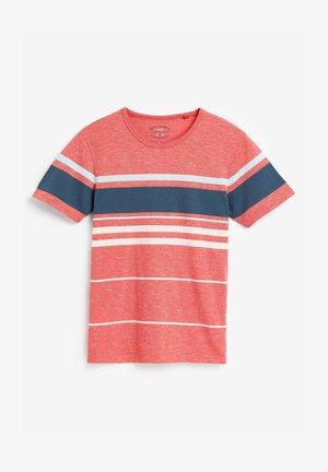 Print T-shirt - coral