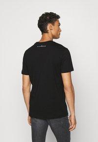 John Richmond - MCENROE - Print T-shirt - black - 2