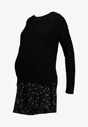 TIFFANY 2-IN-1 - Jumper - black