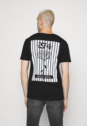 BACK TEE - T-shirt print - black