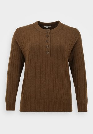 CHERRY DIRECT EXCLUSIVE - Pullover - heather mulch brown