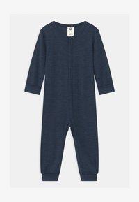 Lindex - ONESIES BABY UNISEX - Pyjamas - blue melange - 0
