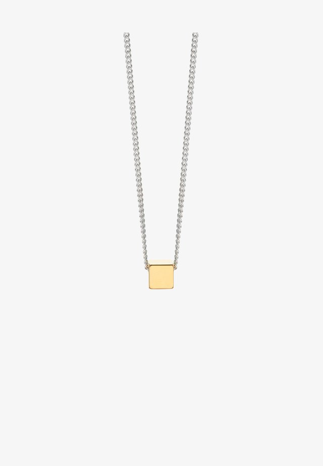 BOX NECKLACE - Necklace - gold