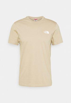 SIMPLE DOME TEE - T-shirt basic - kelp tan