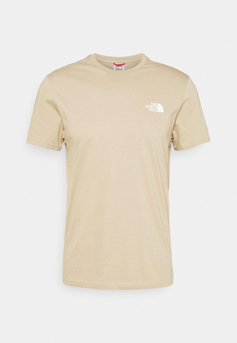 The North Face - SIMPLE DOME TEE - T-shirt - bas - kelp tan