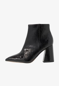 Topshop Wide Fit - WIDE FIT HACKNEY - Ankle boots - black - 1