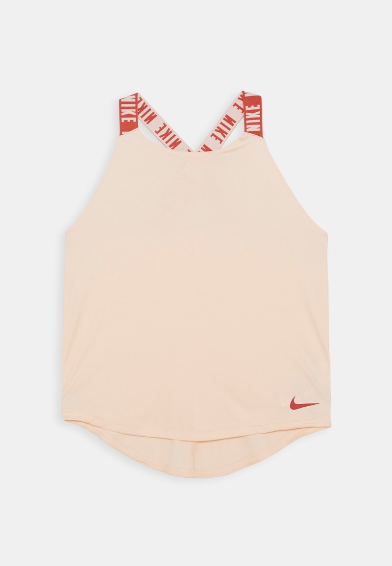 Nike Performance - DRY TANK ELASTIKA - Sports shirt - washed coral/track red