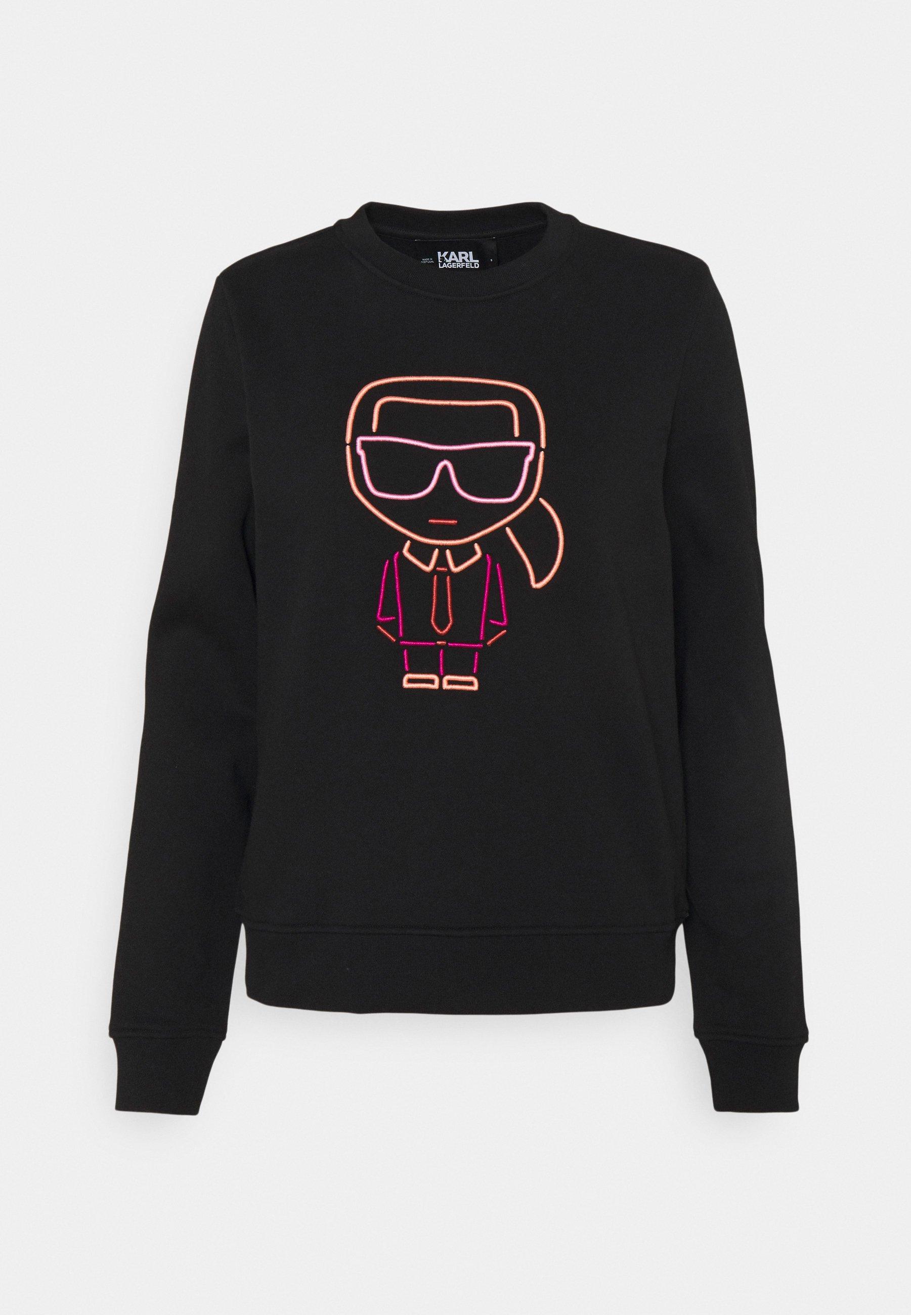 Women KARL IKONIK OUTLINE - Sweatshirt