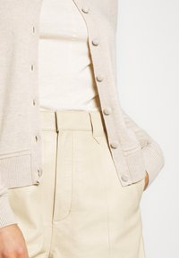 Selected Femme - SLFINKA CARDI - Cardigan - birch melange
