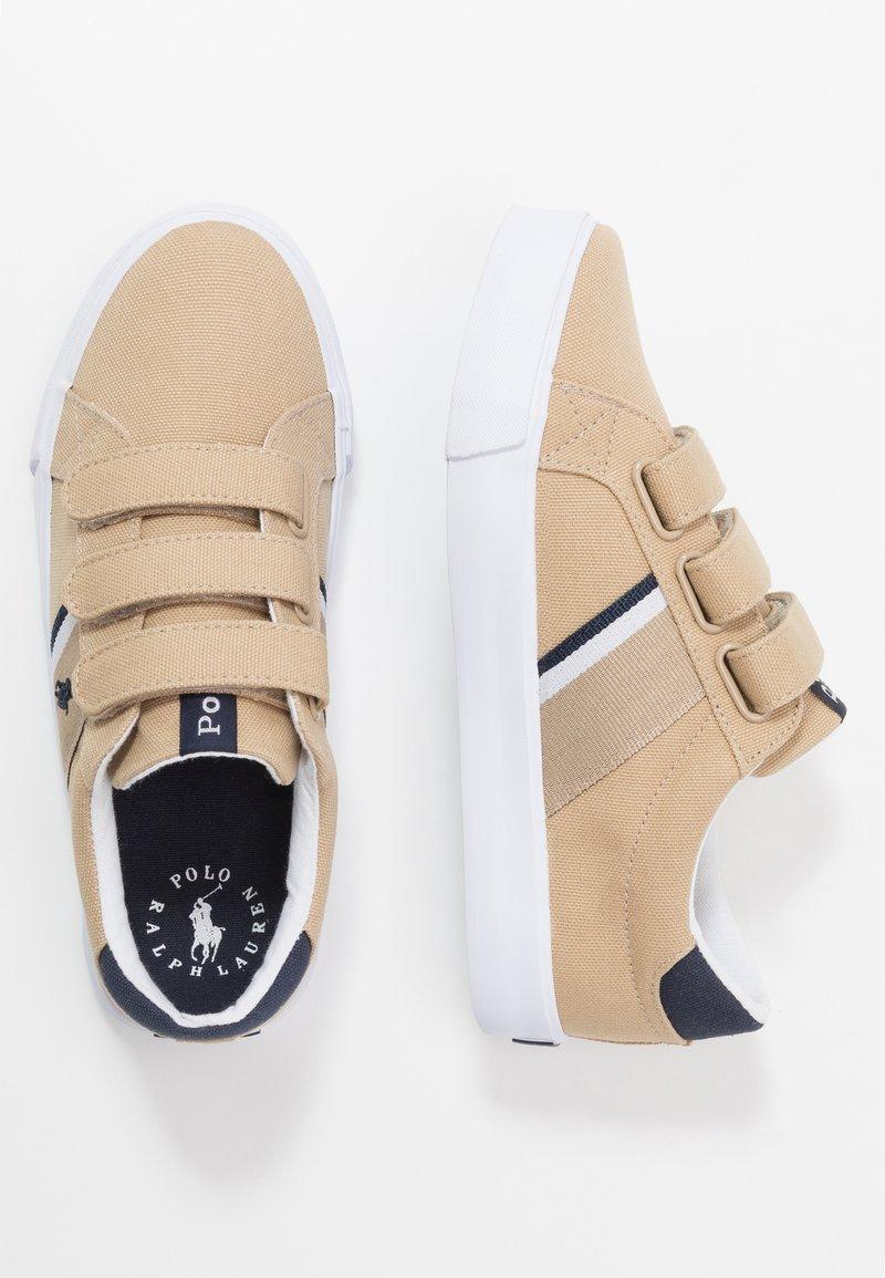 Polo Ralph Lauren - GAFFNEY - Sneakers laag - khaki/navy/white