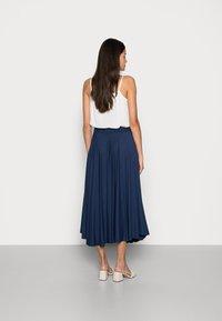 Esprit - SKIRT - A-line skirt - dark blue - 2